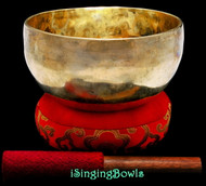 "New Tibetan Singing Bowl #9668: Thadobati 7"", A3 & E5."