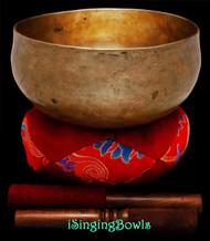 Antique Tibetan Singing Bowl #9663