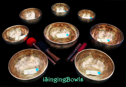 Tibetan Singing Bowl Set #102