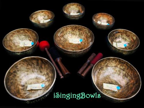 Tibetan Singing Bowl Set #103