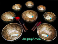 Tibetan Singing Bowl Set #103