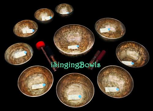 Alexandre Tannous Method Tibetan Singing Bowl Set #105