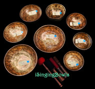 Tibetan Singing Bowl Set #106