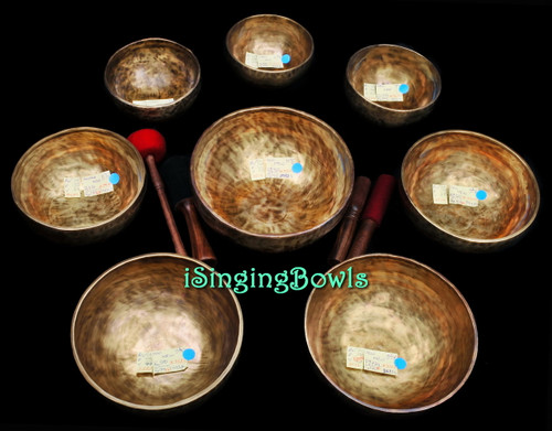Tibetan Singing Bowl Set #107