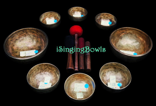Tibetan Singing Bowl Set #110