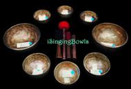 Tibetan Singing Bowl Set #110