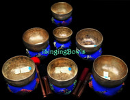 Antique Tibetan Singing Bowl Set #114