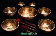 Tibetan Singing Bowl Set #121