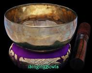 Tibetan Singing Bowl #9675