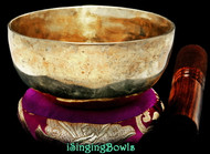 "New Tibetan Singing Bowl #9683: Cup 4 7/8"",  B4 & E6."