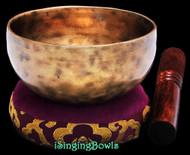 Tibetan Singing Bowl #9719