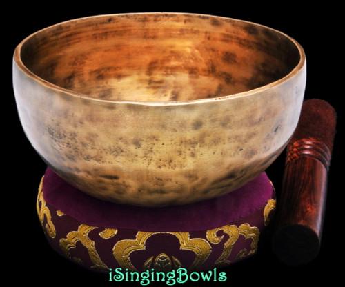 Tibetan Singing Bowl #9721