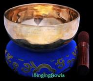 Tibetan Singing Bowl #9709