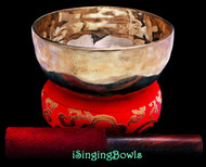 "New Tibetan Singing Bowl #9707 : Thadobati 6"", D4 & G#5."