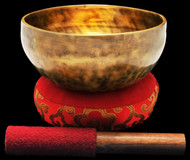 "New Tibetan Singing Bowl #9741 : Thadobati  7"", B3 & F5."