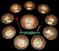 Alexandre Tannous Method Tibetan Singing Bowl Set #115