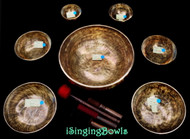 Tibetan Singing Bowl Set #125