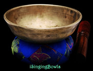 "Antique Tibetan Singing Bowl #9761 :   LWTL 5 3/4"", circa 18th Century, F4 & B5."