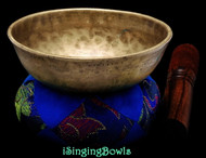 "Antique Tibetan Singing Bowl #9762 :   LWTL 5 1/4"", circa 18th Century, F4 & A#5."