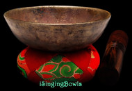 "Antique Tibetan Singing Bowl #9766 :   LWTL 5 1/8"", circa 18th Century, A4 & D#6."