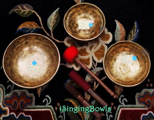 Tibetan Singing Bowl Set #25b