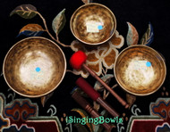 Tibetan Singing Bowl Set #25b