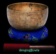 "Antique Tibetan Singing Bowl #9481 : Void 7 1/4"", ca. 18th Century, A3 & D#5."