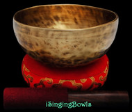 "New Tibetan Singing Bowl #9081 : Thadobati 7"", A3 & E5."