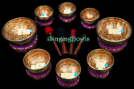 Tibetan Singing Bowl Set #109