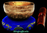 "New Tibetan Singing Bowl #9580 : CB 5 7/8"",  F5 & B6."