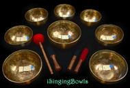 Tibetan Singing Bowl Set #137