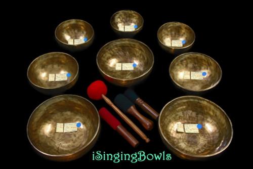 Tibetan Singing Bowl Set #133
