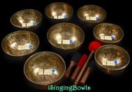 Tibetan Singing Bowl Set #130