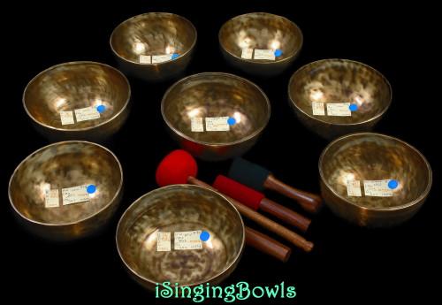 Tibetan Singing Bowl Set #131