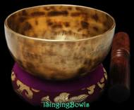 "New Tibetan Singing Bowl #8920: CB 5 1/8"",  G4 & C#6."