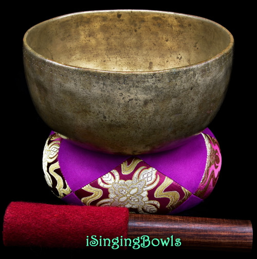 Antique Tibetan Singing Bowl #9990
