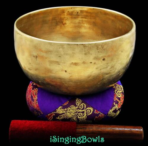 Antique Tibetan Singing Bowl #7890