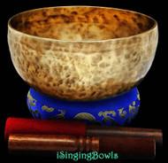 Tibetan Singing Bowl #7576b