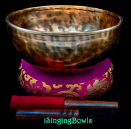 New Tibetan Singing Bowl #10232