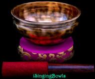 Tibetan Singing Bowl #10259