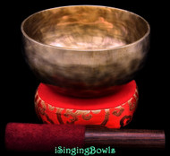 New Tibetan Singing Bowl #10258