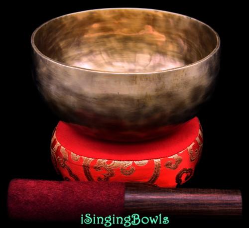 New Tibetan Singing Bowl #10258