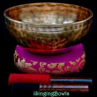 New Tibetan Singing Bowl #10226
