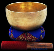 "Antique Tibetan Singing Bowl #7794 : Thado 6 7/8"", ca. 17th Century, A3 & D#5."