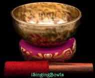 New Tibetan Singing Bowl #10303