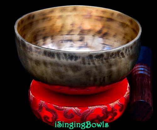 Tibetan Singing Bowl #9880