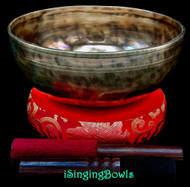 New Tibetan Singing Bowl #10228