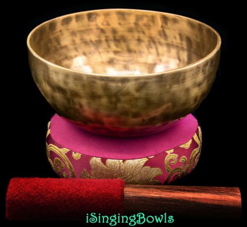 New Tibetan Singing Bowl #9942