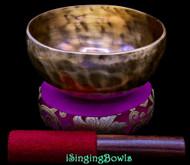 New Tibetan Singing Bowl #9821