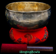 Antique Tibetan Singing Bowl #9976